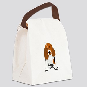 Bassett hound Canvas Lunch Bag