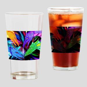 dragon heads Drinking Glass