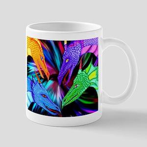 dragon heads Mugs