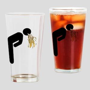 Man vomiting icon Drinking Glass