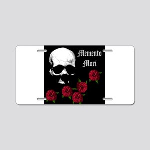 mementomori Aluminum License Plate