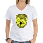 USS Tutuila (ARG 4) Women's V-Neck T-Shirt