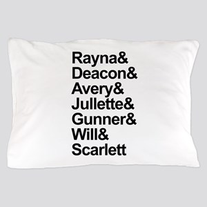 Nashville Cast Pillow Case