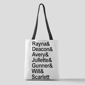 Nashville Cast Polyester Tote Bag