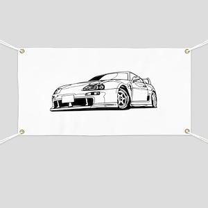 Porsche 911 car Banner