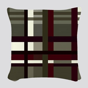 Falling Leaves Woven Throw Pillow
