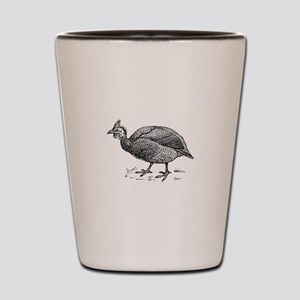 Guinea fowl Shot Glass