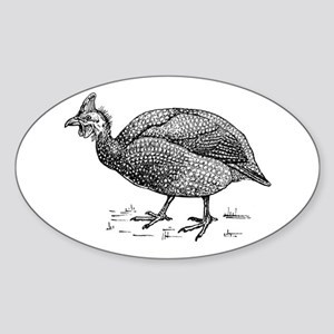 Guinea fowl Sticker