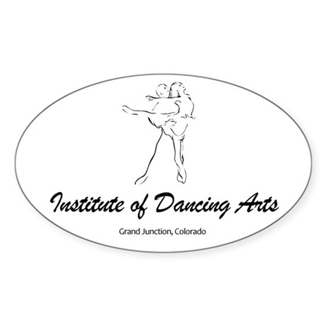 IDA Logo Horizontal Oval Sticker