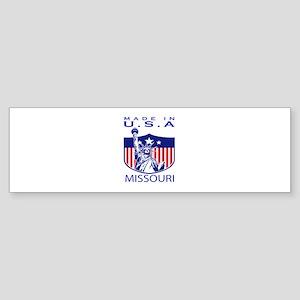Missouri State Designs Sticker (Bumper)
