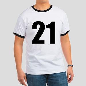 Number 21 Ringer T