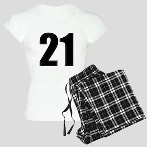 Number 21 Women's Light Pajamas