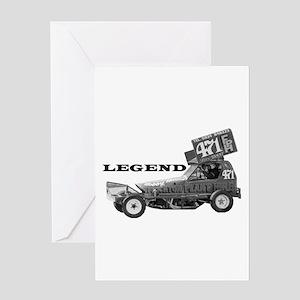"Bobby Burns ""LEGEND"" Greeting Card"