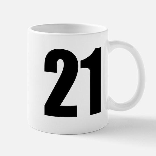 Number 21 Mug