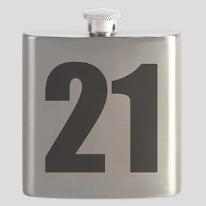 Number 21 Flask