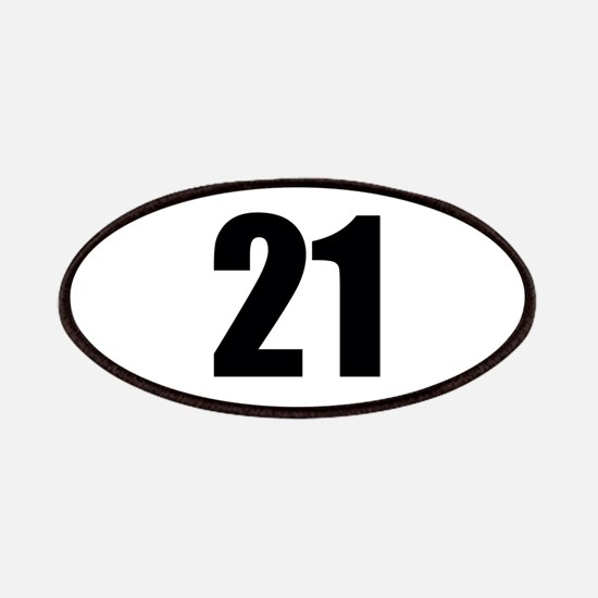 Number 21 Patch