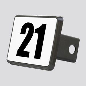 Number 21 Rectangular Hitch Cover