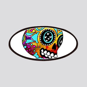 Color Splash Sugar Skull by OneCuriousHuman Patch