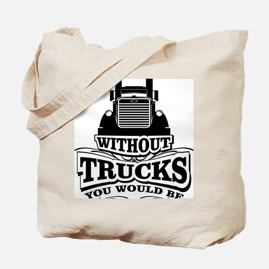 Cute Semi trucks Tote Bag