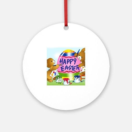 Unique Easter Round Ornament