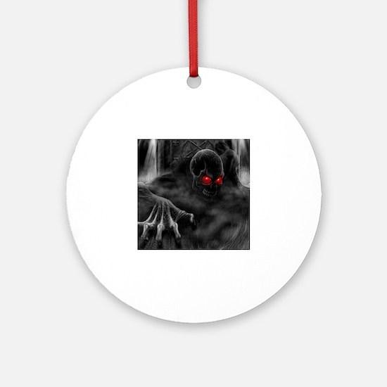 Unique Paranormal Round Ornament