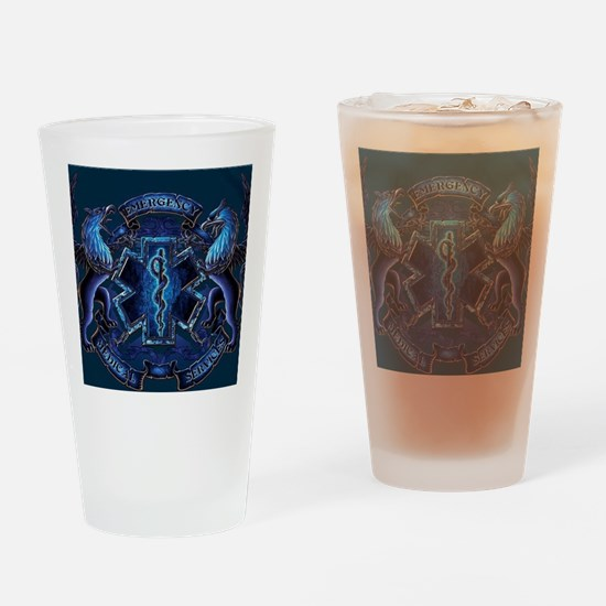 Funny Ems Drinking Glass