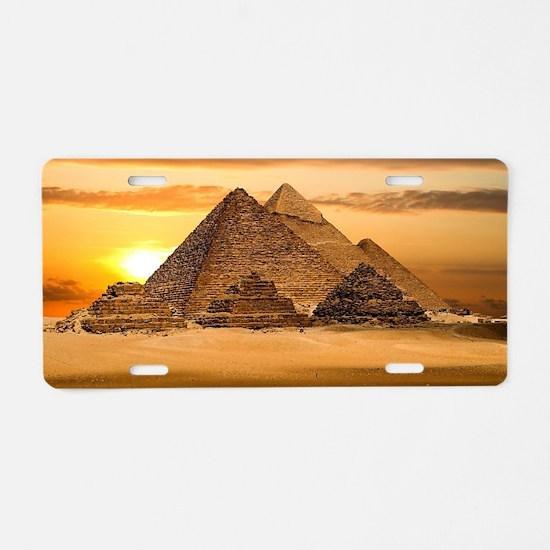 Cute Egyptian Aluminum License Plate