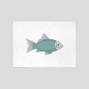 Generic fish 5'x7'Area Rug