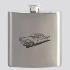 1957 Ford Thunderbird Flask