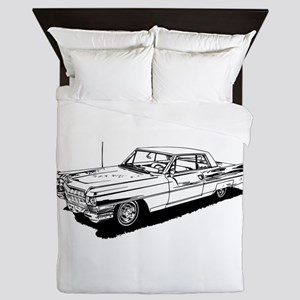 1957 Ford Thunderbird Queen Duvet