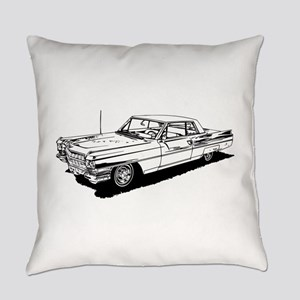1957 Ford Thunderbird Everyday Pillow