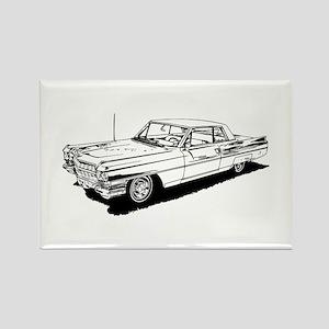 1957 Ford Thunderbird Magnets