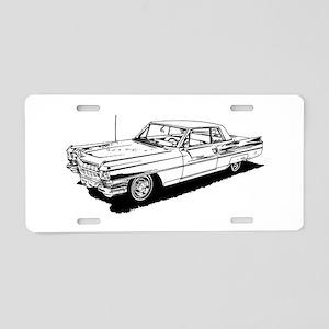 1957 Ford Thunderbird Aluminum License Plate
