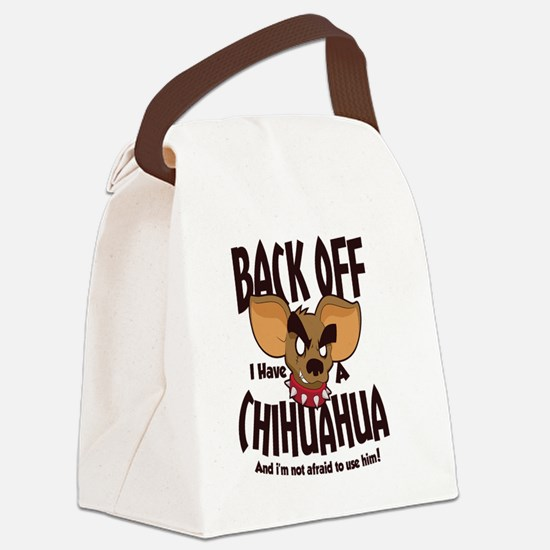 Cute Mens Canvas Lunch Bag