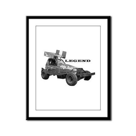 """John Toulson """"LEGEND"""" Framed Panel Print"""