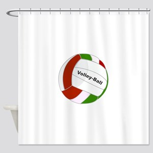 Volley ball Shower Curtain