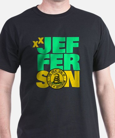 State of Jefferson - DTOM T-Shirt