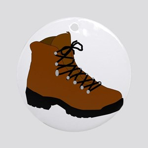 Hiking boot Round Ornament