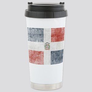Dominican Republic Dist Stainless Steel Travel Mug
