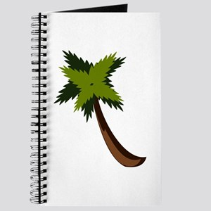 Palm tree with leaves Journal