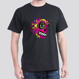 Pink Sugar Skull in Love T-Shirt