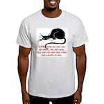 Sneaky Cats Ash Grey T-Shirt