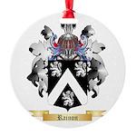Rainon Round Ornament