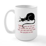 Sneaky Cats Large Mug