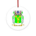 Rainoldi Round Ornament