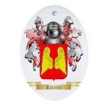 Rainnie Oval Ornament