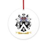Rainmann Round Ornament