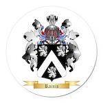 Rainis Round Car Magnet