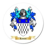 Rainier Round Car Magnet