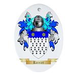 Rainier Oval Ornament